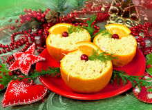 Christmas  appetizer Royalty Free Stock Photo