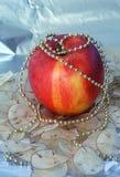 Christmas apple Royalty Free Stock Photography