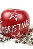Christmas apple Royalty Free Stock Image
