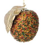 Christmas apple decoration Stock Images