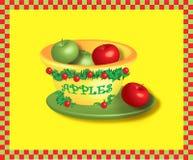 Christmas Apples Stock Photo