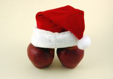 Christmas Apples. Royalty Free Stock Image