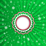 Christmas applique background. Vector illustration for your desi Royalty Free Stock Photos