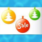 Christmas applique round sale labels Stock Photo