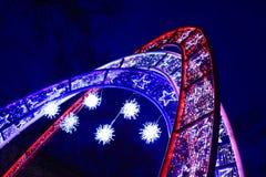 Christmas arches Stock Photos