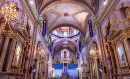 Christmas Arches Cathedral Parroquia Dolores Hidalalgo Mexico