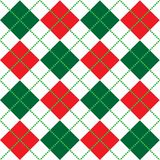 Christmas Argyle Pattern Royalty Free Stock Photo