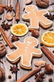 Christmas aroma decor Stock Image