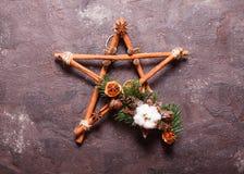 Christmas aromatic star Royalty Free Stock Photos