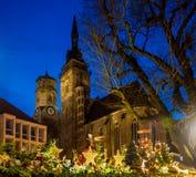 Christmas around Stiftskirche (1) Royalty Free Stock Photos