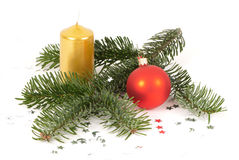 Christmas arrangement Royalty Free Stock Photos