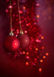 Christmas arrangement stock photos