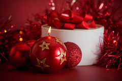 Christmas arrangement Stock Photo