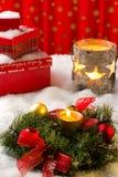 Christmas arrangement Royalty Free Stock Photography