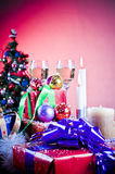 Christmas arrangement Stock Image