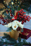 Christmas arrangement Stock Photography