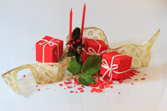 Christmas arrangements Royalty Free Stock Photos