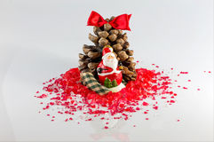 Christmas arrangements Royalty Free Stock Image