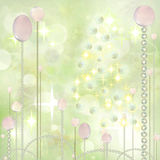 Christmas Art Background Royalty Free Stock Photography