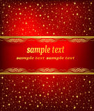 Christmas artistic vector background Royalty Free Stock Photography