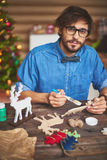Christmas artwork Stock Photos