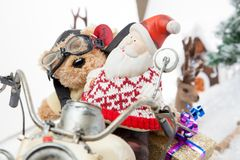 Christmas assistant driver Royalty Free Stock Photo