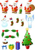 Christmas Assortment Royalty Free Stock Photography