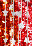 Christmas asterisks Royalty Free Stock Photo