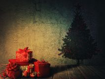 Christmas atmosphere stock photography