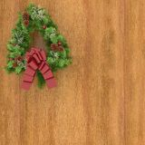 Christmas atmosphere. This is an illustration with christmas atmosphere,decorations Stock Photography