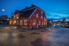 Christmas atmosphere in Norrkoping, Sweden Royalty Free Stock Image