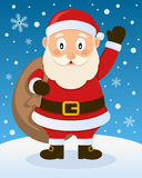 Christmas Atmosphere with Santa Claus Stock Photography
