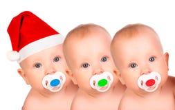 Christmas babies. stock image