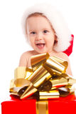 Christmas baby Royalty Free Stock Photography