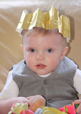 Christmas Baby Stock Photography