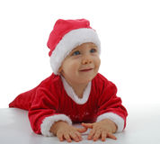 Christmas baby royalty free stock images