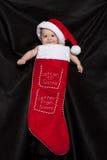 Christmas Baby Stock Photos