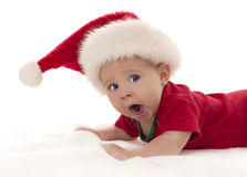 Christmas baby Stock Image