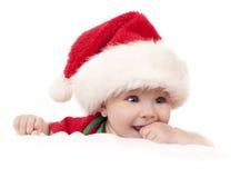 Christmas baby Stock Image