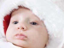 Christmas Baby Royalty Free Stock Photos
