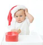 Christmas baby Royalty Free Stock Image