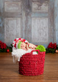 Christmas Baby Stock Images