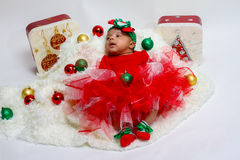 Christmas Baby Stock Photos