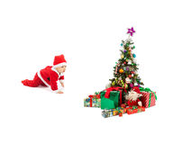 Christmas and baby Royalty Free Stock Photography