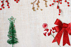 Christmas Backdrop Stock Photography