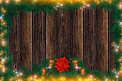 Christmas Backdrop Stock Images