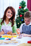 Christmas backery Royalty Free Stock Images