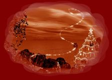 Christmas backgorund Royalty Free Stock Image