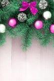 Christmas backgound Stock Photos