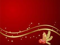 Christmas Background. Elegant Christmas Background. Vector illustration Stock Photography